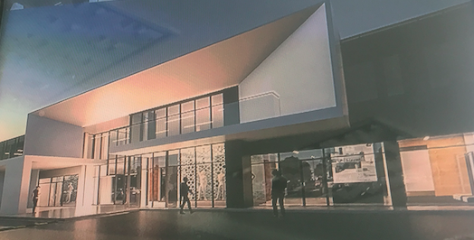 На Хмельницькому шосе збудують торговий центр з паркінгом. ГРАФІКА