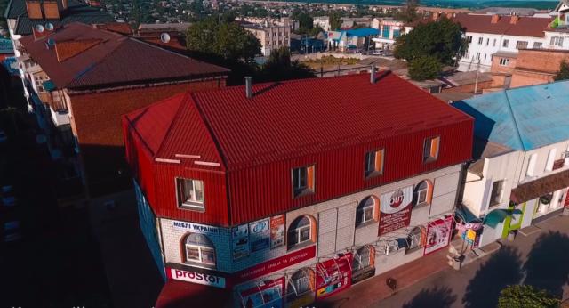 У Жмеринці виставили на продаж нову офісну будівлю в самому центрі міста. ВІДЕО