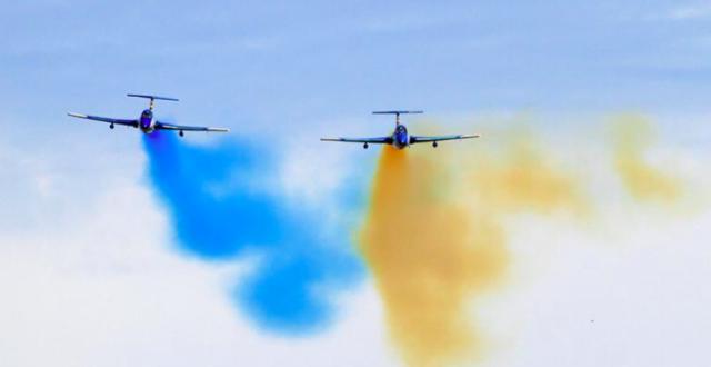 Український прапор на дронах та ракети з системою самознищення: під Вінницею відбудеться авіашоу