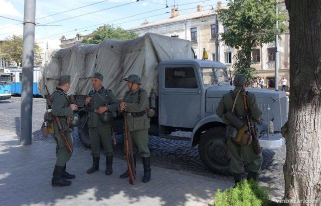 Німці в місті: у Вінниці почалися зйомки фільму про Голокост. ФОТО