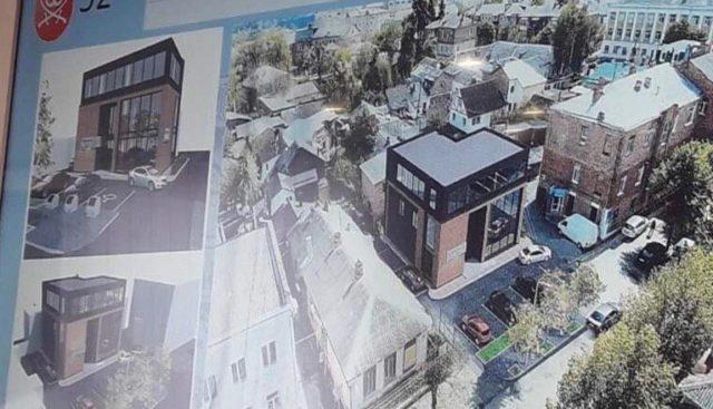 У Вінниці планують збудувати два торгово-офісні центри. ГРАФІКА