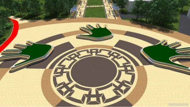 Яким може стати парк Дружби народів у Вінниці після реконструкції. ГРАФІКА