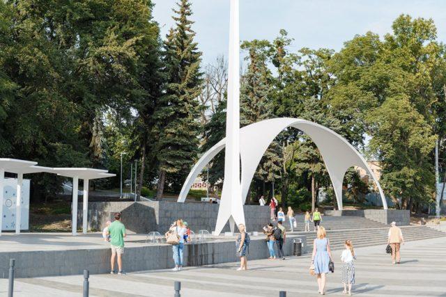 За реконструкцію входу до Центрального парку доплатять ще понад п'ять мільйонів
