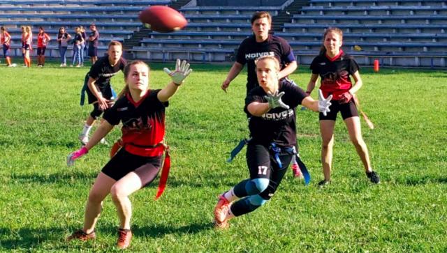 """Вінницькі """"Вовчиці"""" перемогли на турнірі з флаг-футболу у Мінську. ФОТО"""