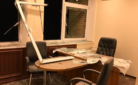 Офіс компанії Продивуса в Києві обстріляли з гранатомета. ФОТО, ВІДЕО