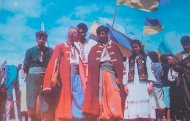28 днів кінного походу: як вінницькі студенти в 1990 році на Січ їздили. ФОТО
