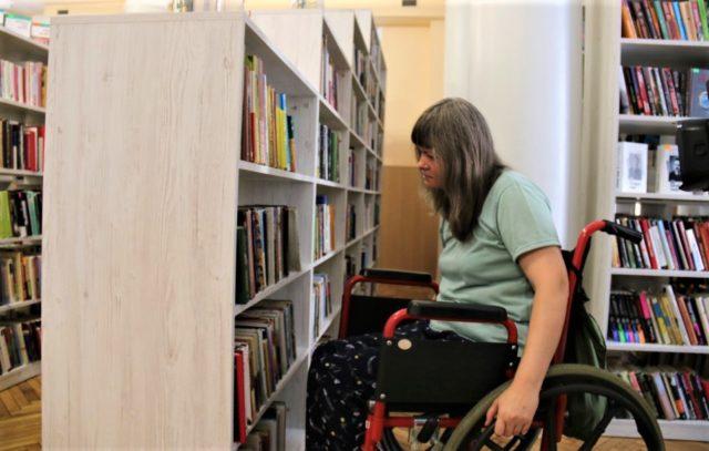 Вінницьку обласну бібліотеку зробили доступнішою для людей з інвалідністю. ФОТО