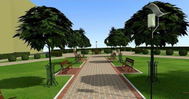 У Вінниці на Можайці з'явиться нова зона відпочинку із фонтаном