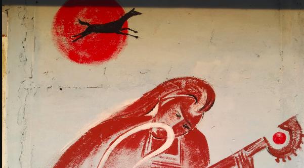 Відун Рахман і бички: як розмалювали клуб одного з найменших сіл Вінниччини. ФОТО