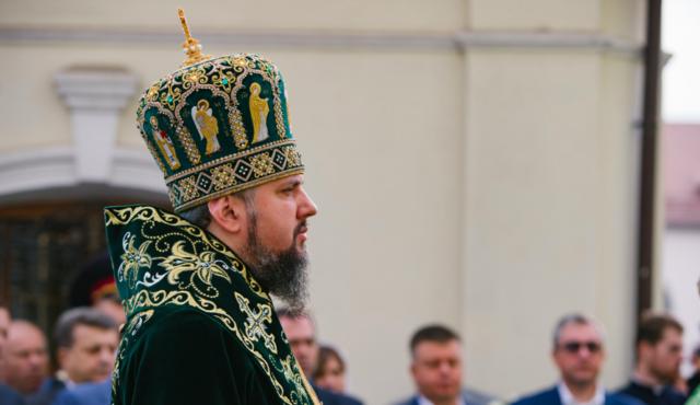 До Вінниці прибув предстоятель ПЦУ Епіфаній та нагородив орденом митрополита Симеона. ФОТОРЕПОРТАЖ