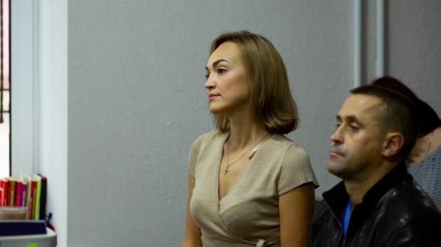 Вінницька депутатка Давиденко виступила з останнім словом на суді у справі нападу на колегу. ФОТО