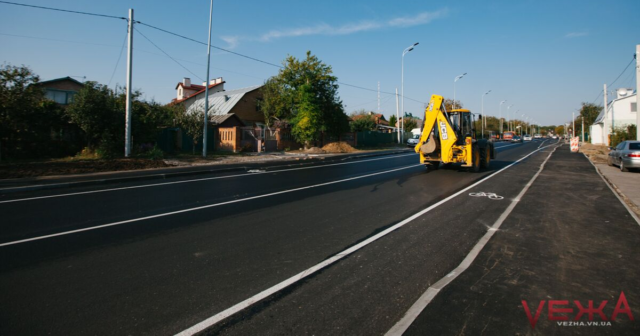 Новий водогін, нове освітлення та велосмуги: як у Вінниці оновлюють вулицю Лесі Українки. ФОТОРЕПОРТАЖ