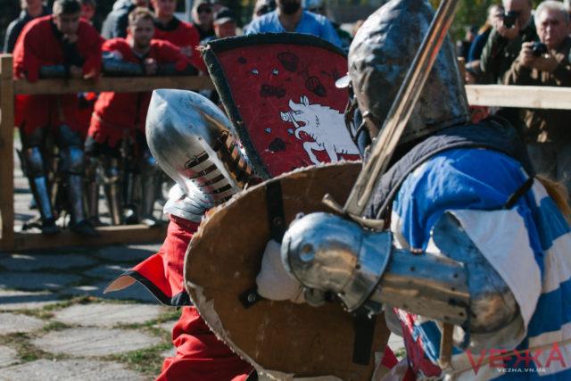 У Вінниці відбудеться дводенний лицарський турнір на честь героя Небесної Сотні