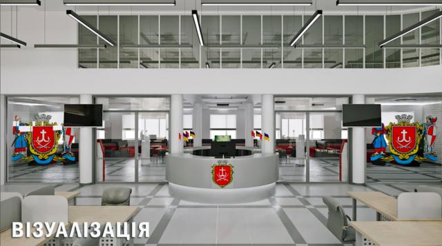"""Мер Вінниці показав, як виглядатиме новий """"Прозорий офіс"""" на Замості. ГРАФІКА"""