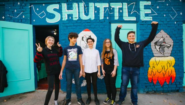 """Екологічний  """"Shuttle"""": у Вінниці відкрили другу станцію сортування сміття. ФОТО"""