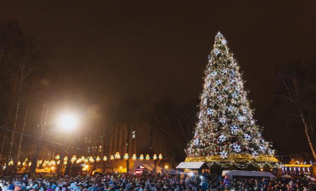 На новорічні свята у Вінниці виділили понад 1,7 мільйона