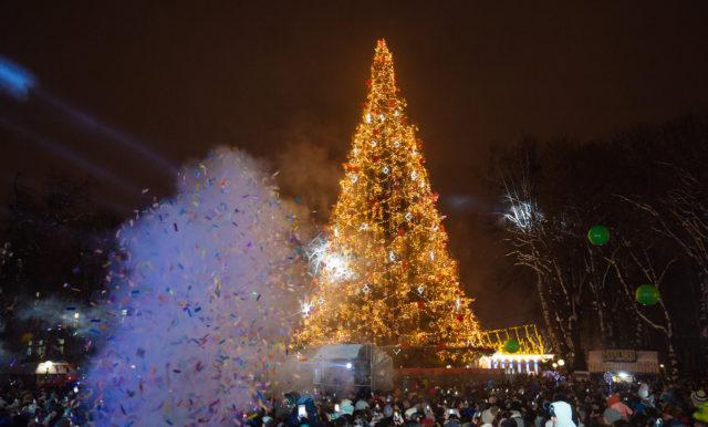 Цього тижня у Вінниці засяє головна новорічна ялинка