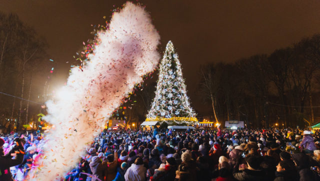 Санта, концерти, фудфест і ялинка: як у Вінниці святкуватимуть Новий Рік. ПРОГРАМА