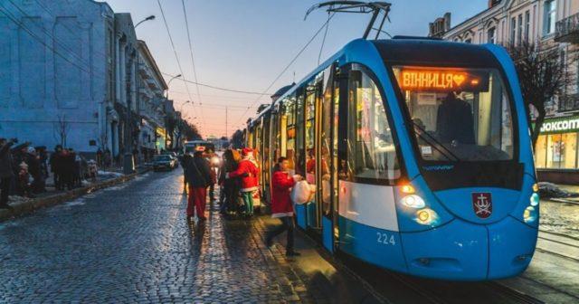 На свята громадський транспорт Вінниці буде безкоштовним для пасажирів