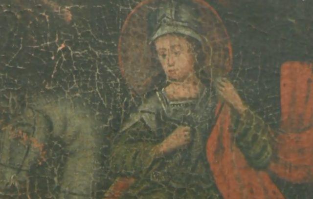 У Вінницькому музеї столичні фахівці почали реставрувати картини. ВІДЕО