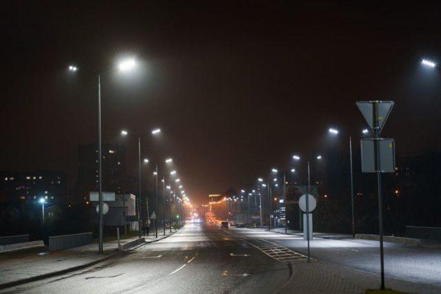 У Вінниці за минулий рік встановили понад 800 світлодіодних ліхтарів