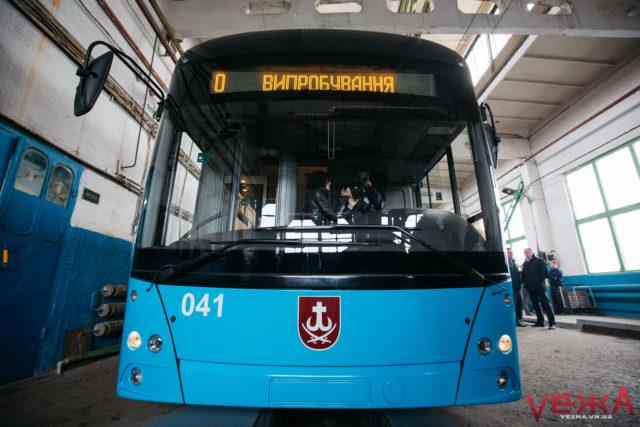 У Вінниці почав курсувати четвертий тролейбус VinLine