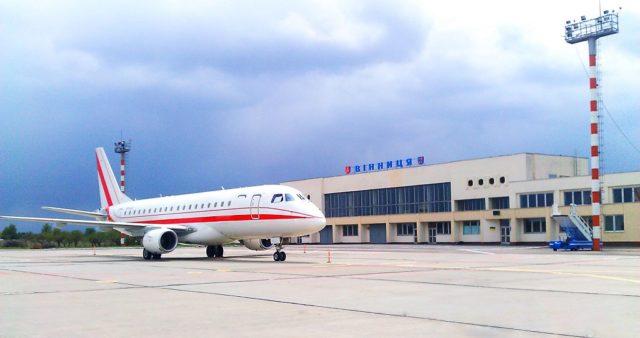 Пасажиропотік вінницького аеропорту минулого року знизився на третину