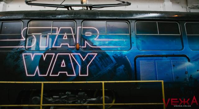 """""""Дарт Вейдер"""" на коліях: як виглядає """"зоряний"""" вінницький трамвай. ФОТО"""