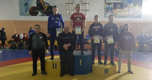 Спортсмен із Вінниці посів перше місце на чемпіонаті України з греко-римської боротьби