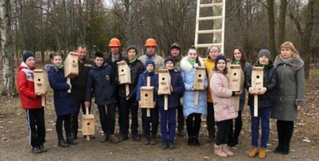 На Вінниччині для птахів встановили майже 19 тисяч нових шпаківень та синичників. ФОТО