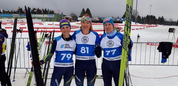 Вінничанка привезла дві медалі Кубку світу з лижних перегонів та біатлону. ФОТО