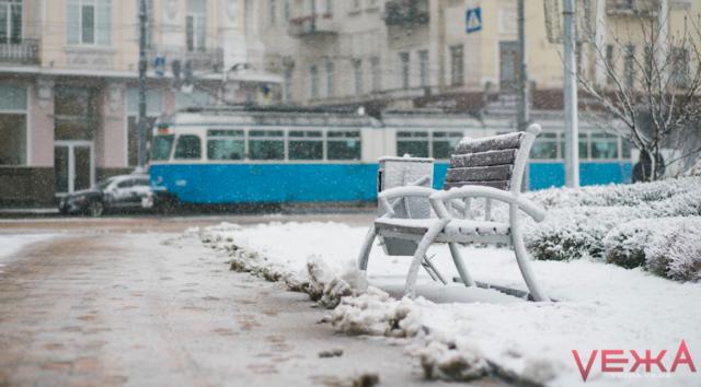 Засніжило: як Вінниця зустріла зиму в лютому. ФОТО