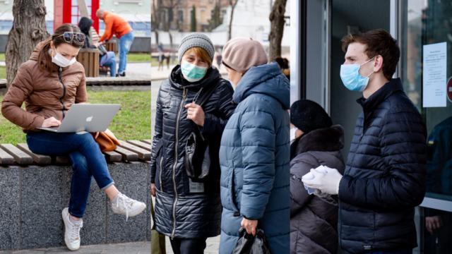 """Люди, маски, """"блок-пости"""": як живе Вінниця під час карантину. ФОТОРЕПОРТАЖ"""