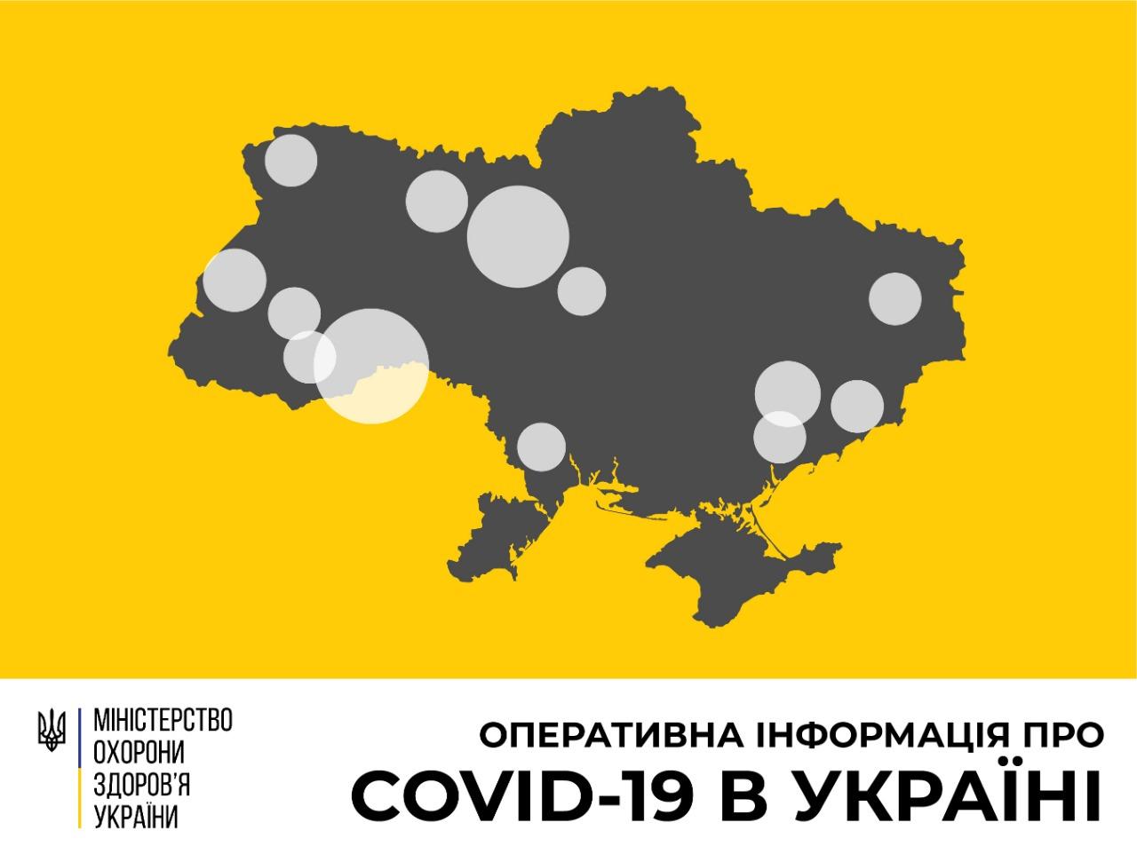 Кількість хворих на COVID-19 в Україні перевищила сотню - VежA