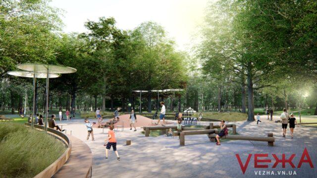 Цьогоріч реконструкцію парку «Хімік» планують розпочати з освітлення