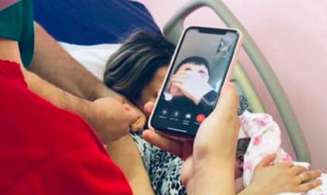 У Вінниці в умовах карантину влаштували партнерські пологи онлайн