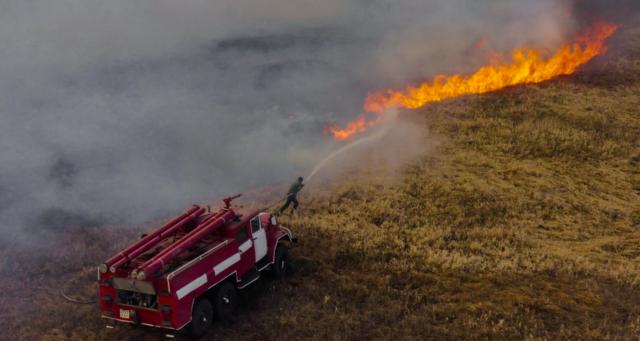 Лісові пожежі в Чорнобильській зоні: вінницькі рятувальники вирушили на допомогу колегам. ФОТО, ВІДЕО