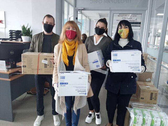 Проект ПРОМІС забезпечив ЦНАПи міст-партнерів у Вінницькій області засобами індивідуального захисту