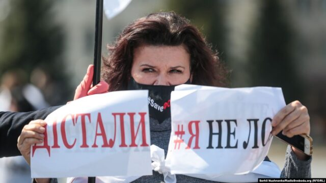SaveФОП: підприємці з Вінниччини приєднались до всеукраїнської акції на підтримку малого бізнесу. ФОТО, ВІДЕО