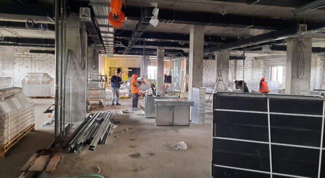 Через карантин на будівництві кардіоцентру у Вінниці стало менше робітників