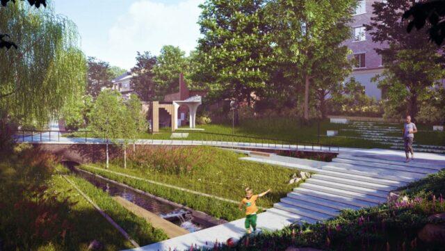 """Ландшафтний парк і відкриття підземної річки: у Вінниці показали, яким буде """"Альтман сквер"""". ГРАФІКА"""