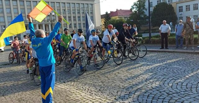 До Вінниці завтра прибуде велопробіг на честь захисників України