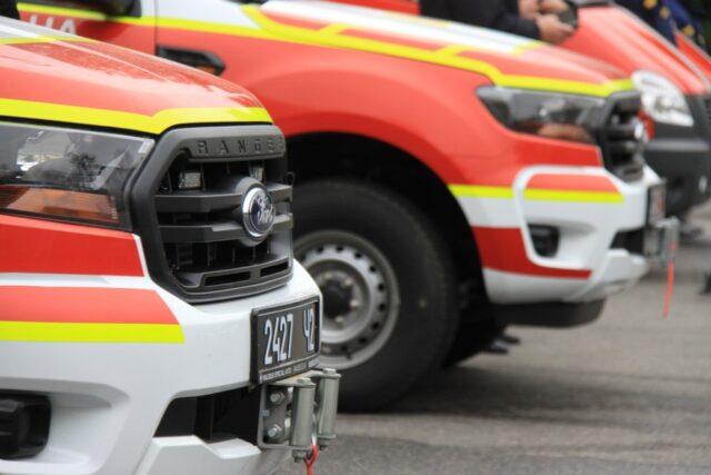 Рятувальникам Вінниччини передали три нові спецавтомобілі. ФОТО