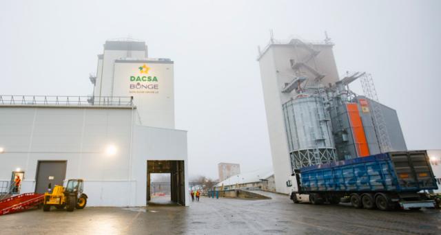 """300 тонн на день: на Вінниччині відкрили завод з переробки кукурудзи """"Dacsa Bunge"""". ФОТОРЕПОРТАЖ"""