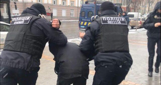 У Вінниці відбулися сутички на мітингу SAVE ФОП. ФОТО