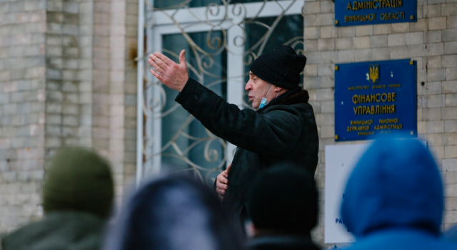 Працівники Вінницької районної лікарні протестують проти переходу закладу на баланс міста. ФОТОРЕПОРТАЖ