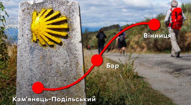 Вінницю планують приєднати до міжнародного туристичного маршруту Camino de Santiago