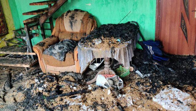 У Вінниці згорів будинок багатодітної родини: потрібна допомога