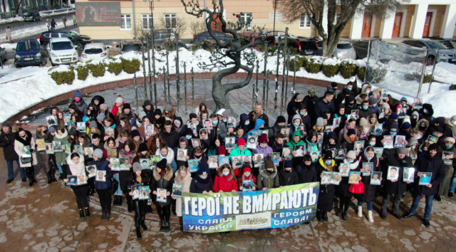 У Вінниці розпочалися акції зі вшанування жертв розстрілів на Майдані. ФОТО