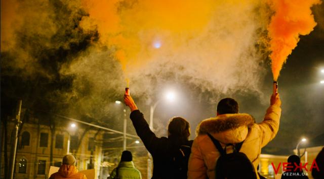 """""""Стерненку – волю!"""": у центрі Вінниці протестують проти ув'язнення активіста. ФОТО, ВІДЕО"""